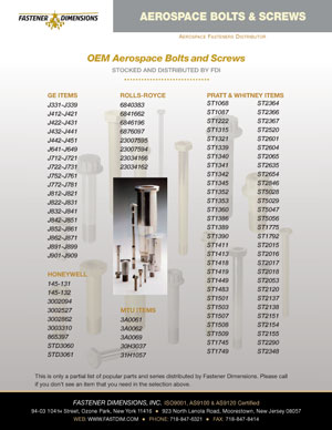 OEM Bolts Screws